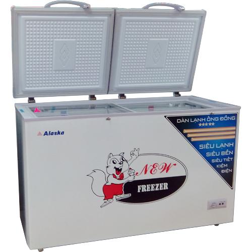 Tủ đông mát Alaska BCD-5568C (550 lít)