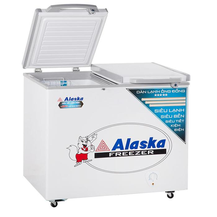 Tủ đông mát 250 lít Alaska FCA-2600C (Ống đồng)