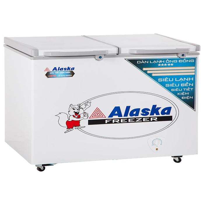 Tủ đông mát 350 lít Alaska FCA-3600C (Ống đồng)