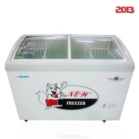Tủ trử kem Alaska SD-401Y (400 lít - kính cong)