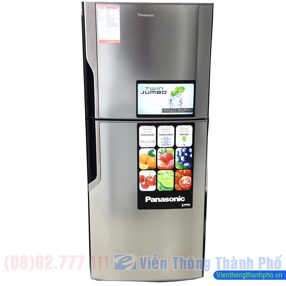 Tủ lạnh Panasonic NR-BK306MSVN 267 lít