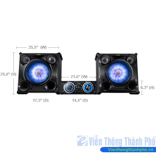Dàn âm thanh Samsung MX-FS8000/XV