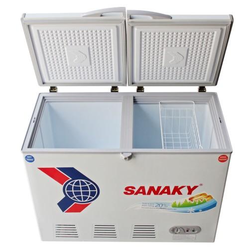 Tủ 2 ngăn đông mát Sanaky VH-2599W1