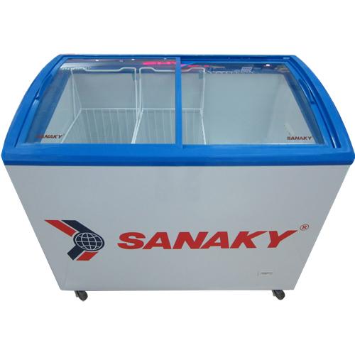 Tủ đông kính cong Sanaky VH-402K (400 lít)
