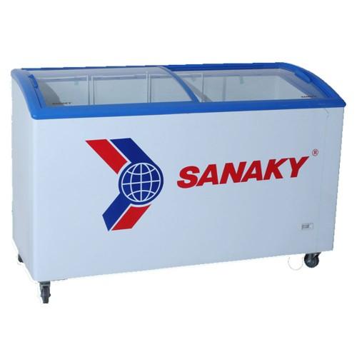 Tủ đông kính cong Sanaky VH-418K (400 lít) ống đồng