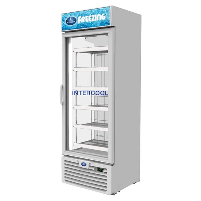 Tủ đông đứng cửa kính 410L Sanden Intercool SNR-0503
