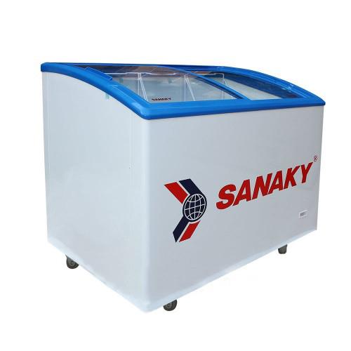 Tủ đông mát kính cong Sanaky Vh-302KW (300l lít)