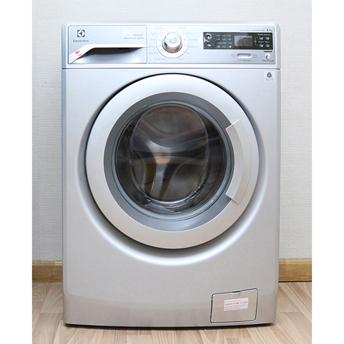 Máy giặt lồng ngang 8kg inverter Electrolux EWF12853S