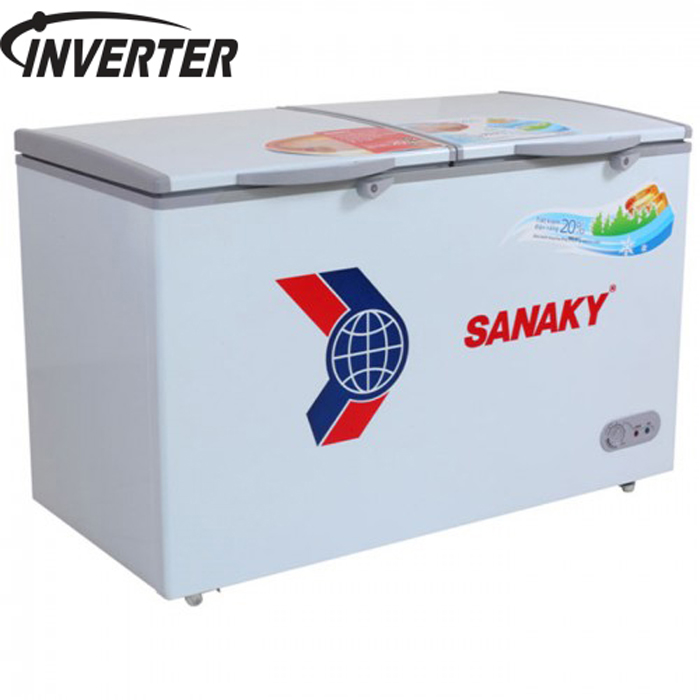 Tủ đông inverter 250L lít Sanaky VH-2599W3 (Gas R600)