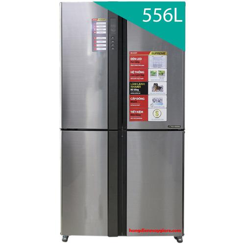 Tủ lạnh Sharp inverter SJ-FX630V (556L lít)
