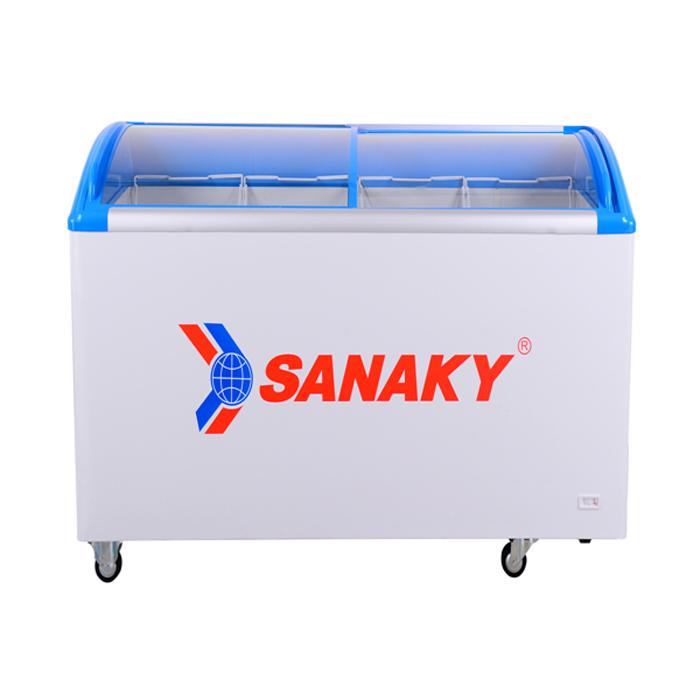 Tủ đông kính cong Sanaky inverter 300L VH-3099K3