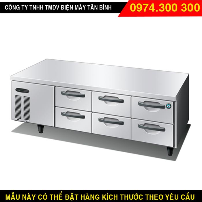 Bàn lạnh 6 ngăn kéo ra Hoshizaki RTL-188MA-SD