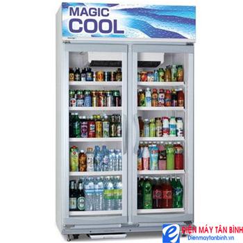 Tủ ướp lạnh 700 lít 2 cửa kính Panasonic SBC-P2DS
