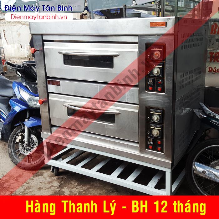 Thanh lý lò điện nướng bánh ngọt 2 khay Kingsun