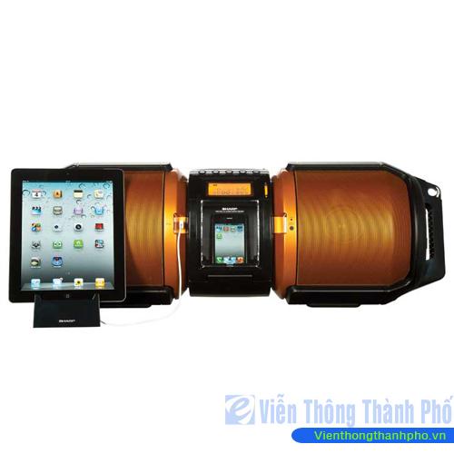 Máy nghe nhạc xách tay Sharp Boombox GX-M10H