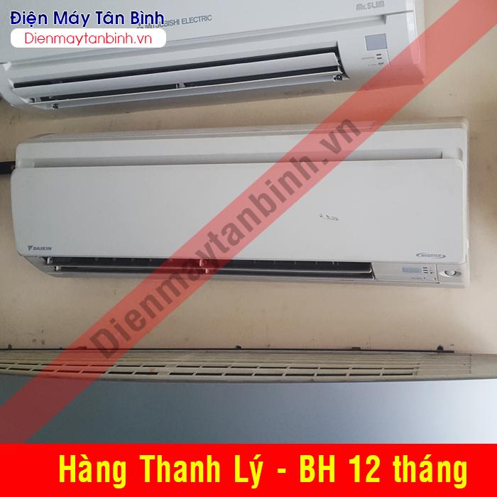 Máy lạnh cũ Daikin 1,5hp inverter (mới 90%)