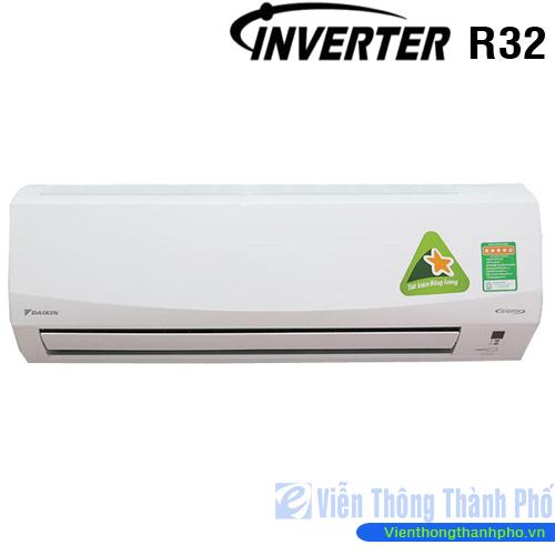 Máy lạnh inverter 2,5Hp Daikin FTKC60NVMV (Gas R32)