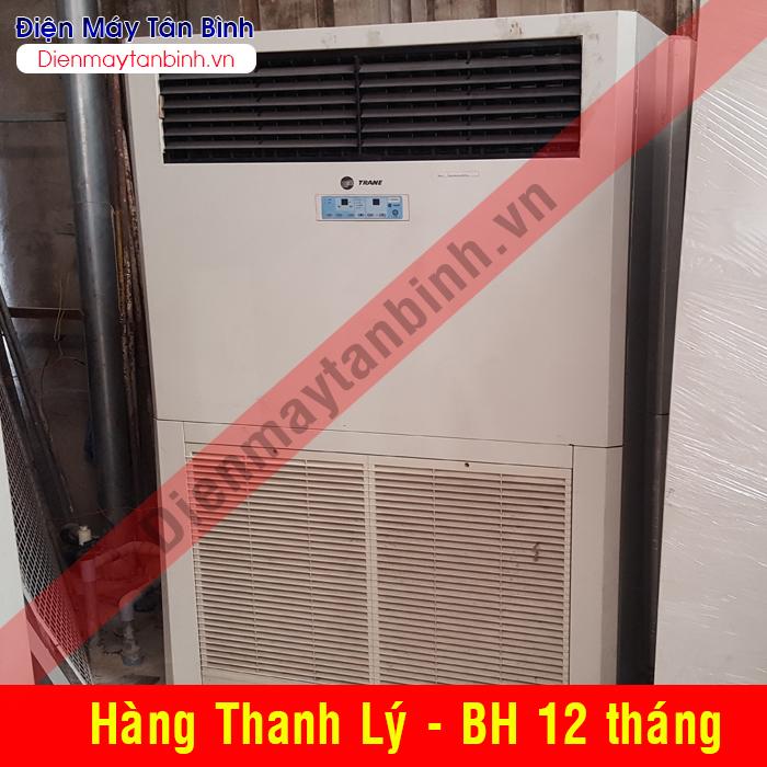 Máy lạnh cũ tủ đứng Trane 10hp