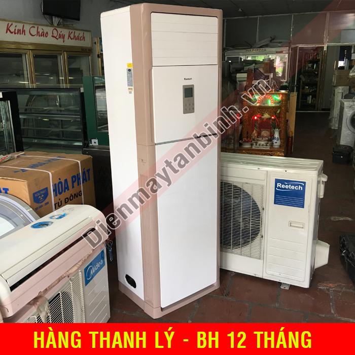 Máy lạnh cũ tủ đứng 3Hp Reetech (mới 90%)