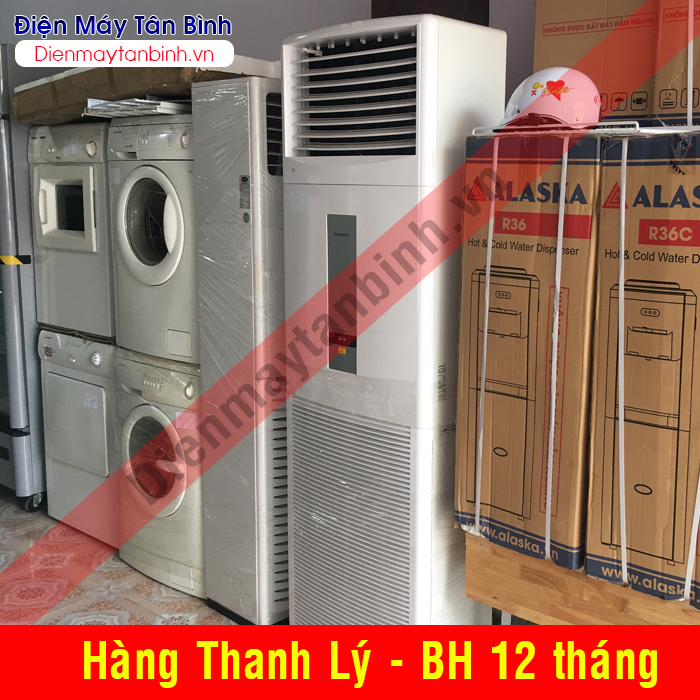 Máy lạnh cũ tủ đứng Panasonic 5hp (mới 90%)