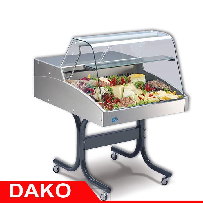 Quầy lạnh Sushi, Salad, Topping mini đặt bàn DAKO