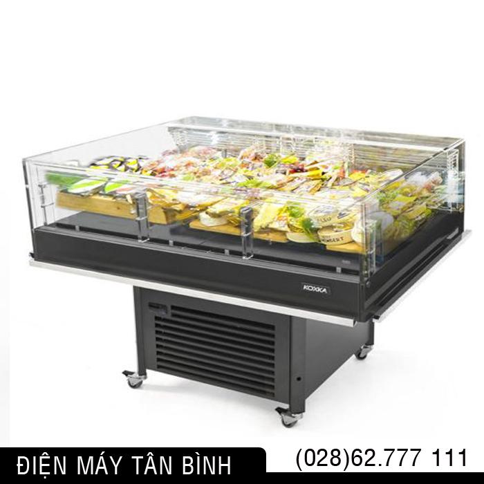 Quầy lạnh trưng bày thực phẩm tự chọn Koxka KOMPO-S – 1.4m