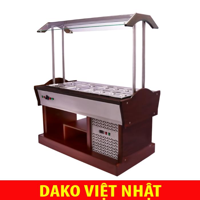 Tủ mát toppings, Salads bar, thức ăn tự chọn Dako Việt Nhật