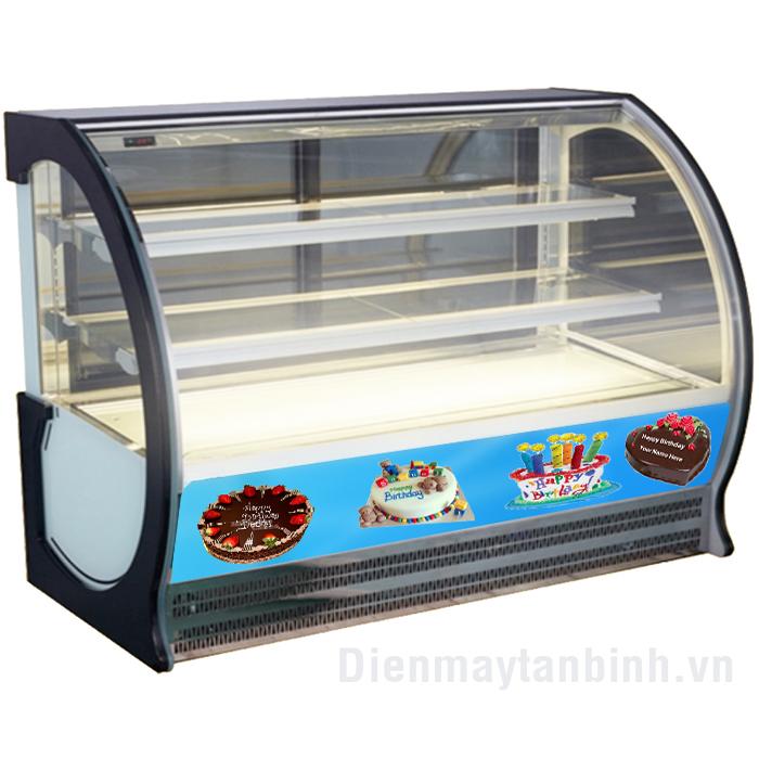 Tủ mát kính cong Sanaky VH-1500hp