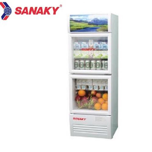 Tủ mát 2 cánh Sanaky inverter VH-218W3 (200L)