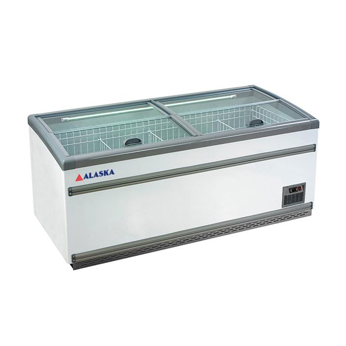Tủ đông kiếng cong Alaska 950L lít SDC-950Y