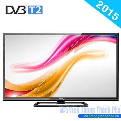 Tivi LED 32 inch Asanzo 32S500T2 (Tích hợp đầu thu KTS DVB-T2)