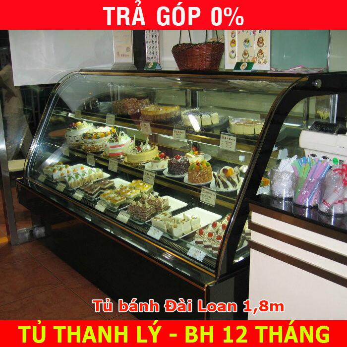 Thanh Lý tủ trưng bày bánh kem Đài Loan (Hương Việt - Nhất Hương)