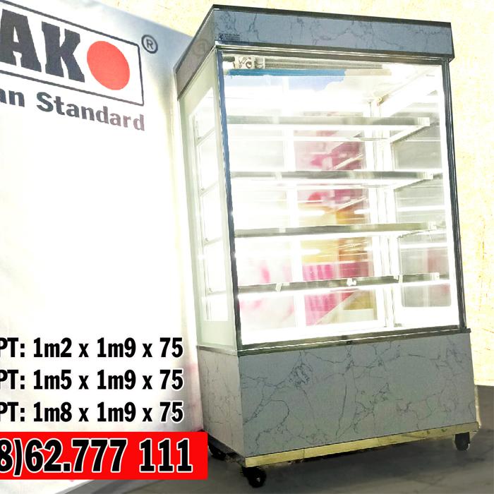 Tủ mát trưng bày bánh sinh nhật 5 tầng DAKO
