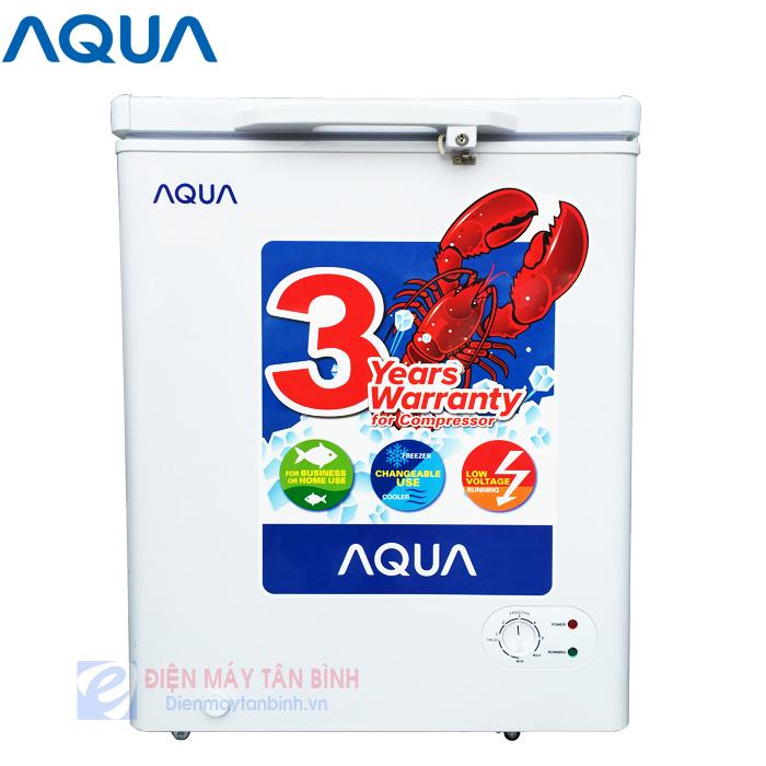 Tủ đông nhỏ nhất 110 lít AQUA AQF-C210