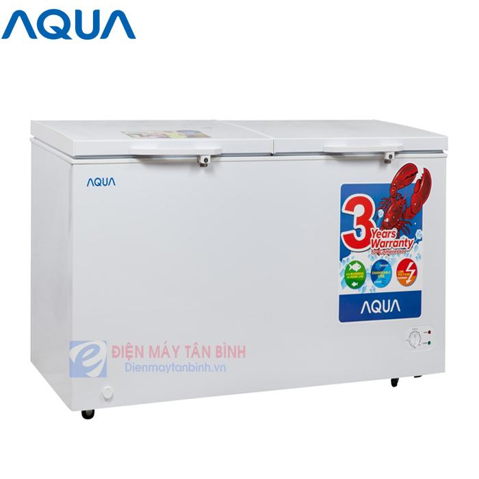 Tủ đông mát 250 lít AQUA AQF-R390 (2 ngăn)