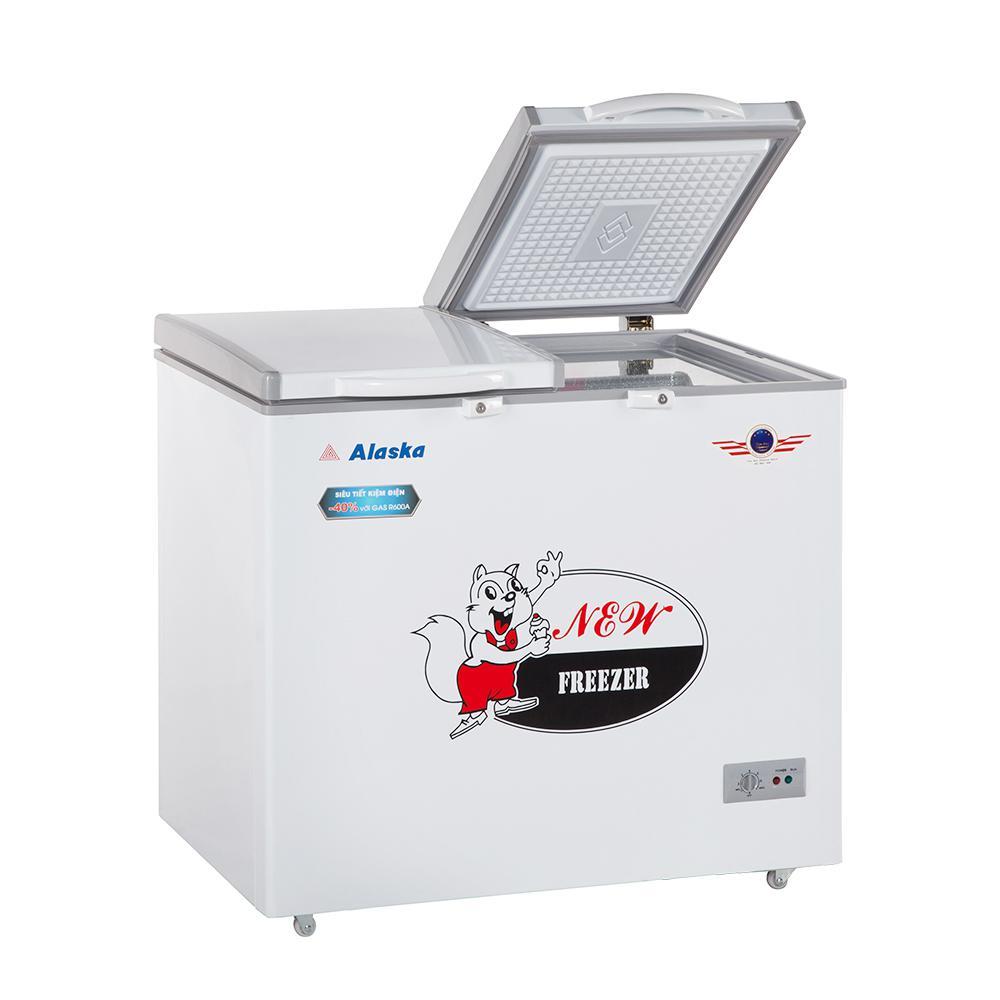 Tủ đông mát 250L lít Alaska BCD-3068N