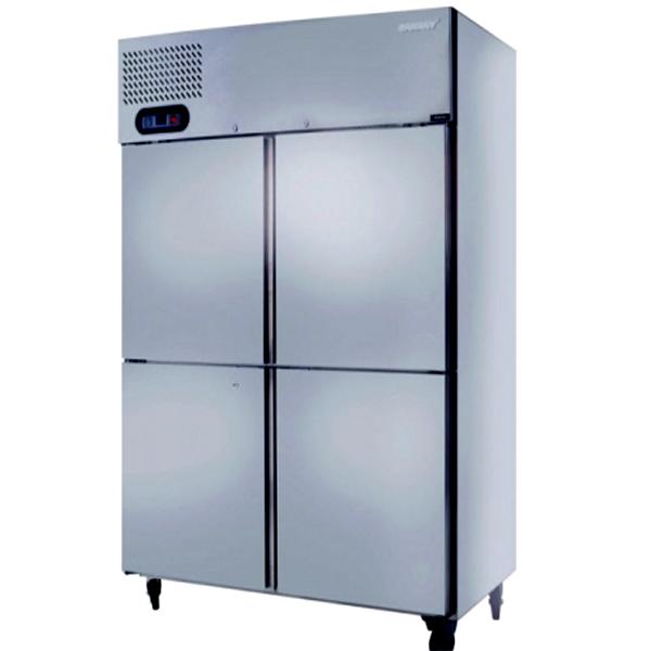 Tủ đông inox 4 cửa 1000 lít Sanaky VH-1099W