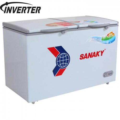 Tủ đông 2 ngăn 350 lít Sanaky VH-3699W3 Gas R600a