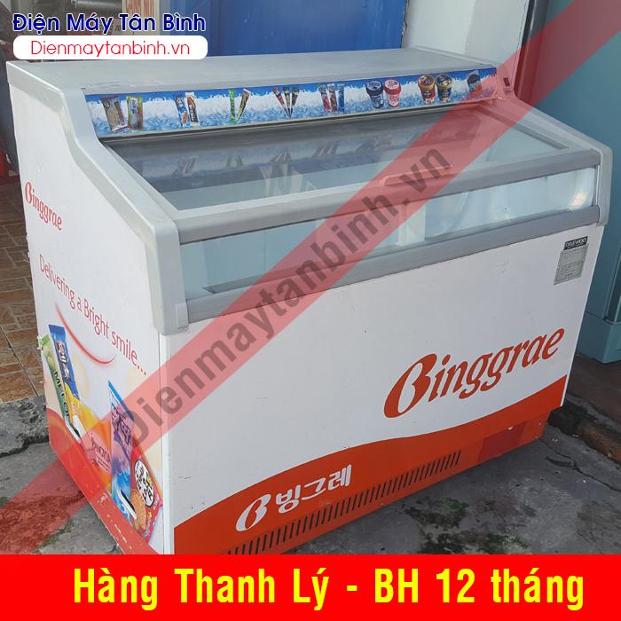Tủ đông cũ trử kem Daewoo (Kính lùa)