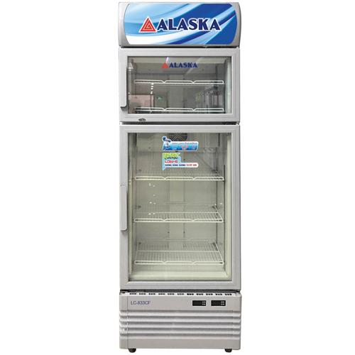 Tủ đông mát có kính Alaska LC-833CF (500L)