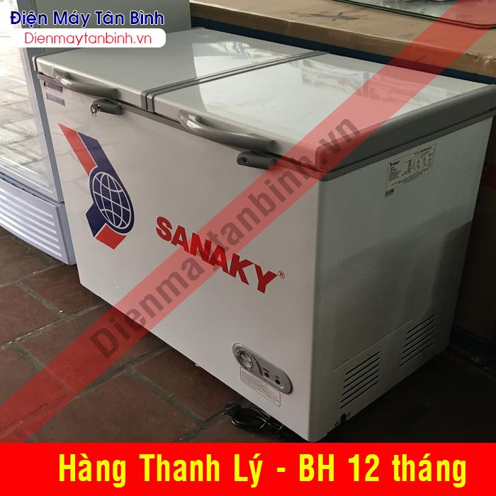 Bán tủ đông cũ Sanaky 200 lít (mới 95%)