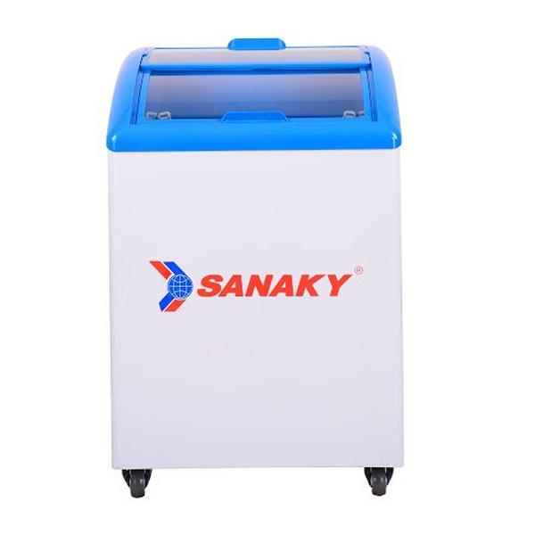 Tủ đông mini kính cong Sanaky VH-182K