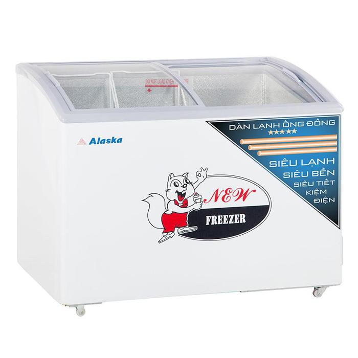 Tủ đông kem kính lùa Alaska SD-401YC