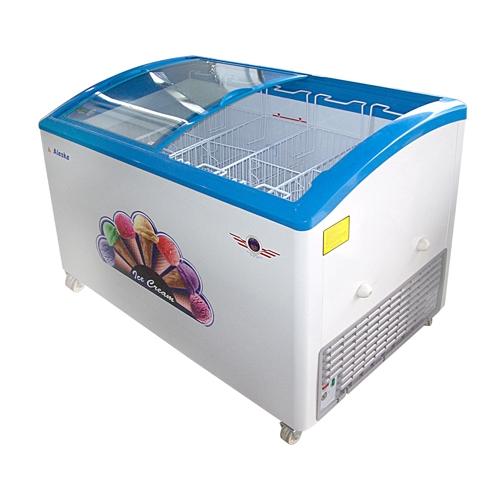 Tủ đông trử kem Alaska SD-500Y (350 lít - kính cong)