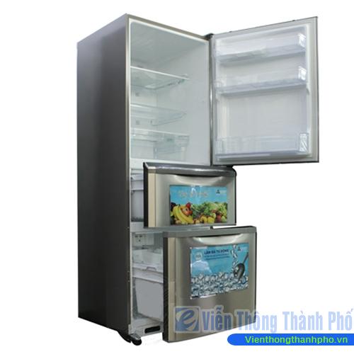 Tủ lạnh 338L lít Mitsubishi MR-C41G-ST-V