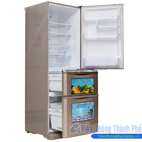 Tủ lạnh 370L lít Mitsubishi MR-C46G-PS-V