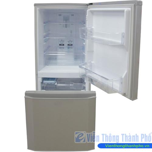 Tủ lạnh 150L lít Mitsubishi MR-P16G-SL-V