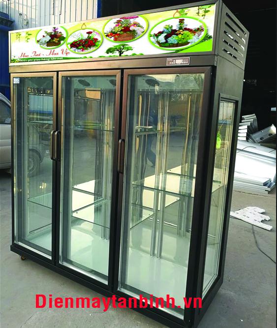 Tủ lạnh trưng bày hoa tươi