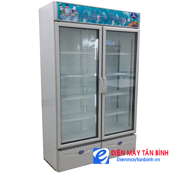 Tủ mát inox 810l lít Sanden SPS-0903  (Nhập khẩu Thái Lan)