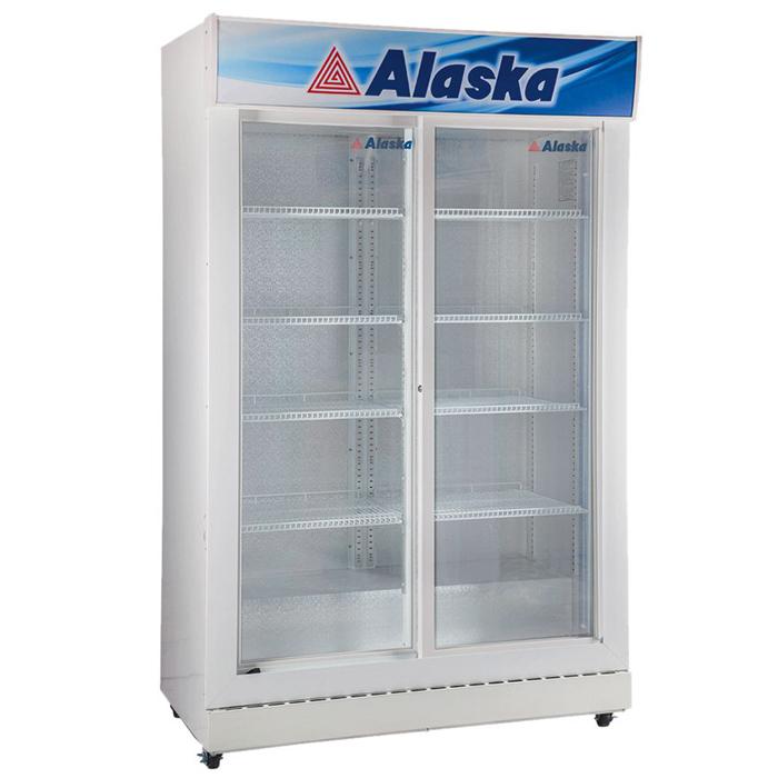 Tủ mát 2 cửa kính lùa 1200L Alaska SL-12S
